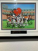 Denver Broncos Back To Back Champions Bugs And Daffy One Of A Kind Cel