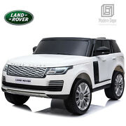 Licensed Land Rover Ride On Car With Remote Control Bluetooth Music Electric Toy