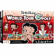 Betty Boop - World Tour Opoly Matching Game Playing Cards Kids Toy Game