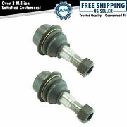 Suspension Ball Joint Front Lower Lh Rh Pair For 06-10 Hummer H3 H3t New