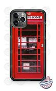 Red Telephone Booth Public Call Box Phone Case For Iphone 11 Pro Samsung Lg Etc