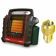 Mr. Heater Portable Buddy Heater With Propane Tank Refill Adapter