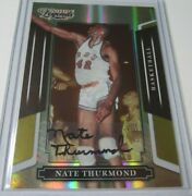 2008 Donruss Americana 121 Nate Thurmond Sports Legends Autograph Card 02/25