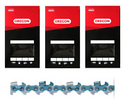 20 Full Chisel Chains 3-pack For Sears Craftsman 35212 35483  72lgx070g3