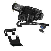3500lb Kfi Stealth Winch Combo Kit M3 For 2015 Arctic-cat 550 Xr Alterra 4x4