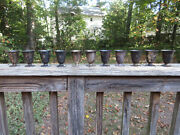 Antique Vintage Bailey Banks And Biddle Silver Cups 3 Made In U.s.a. N-monogram