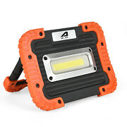 Us 10w 4400mah Portable Led Lightusb Rechargeable Outdoor Camping Flood Lamp