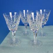 Waterford Crystal - Ashling - 4 Claret Wine Glasses - 5¾ Inches