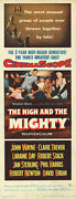 The High And The Mighty Original 1954 14x36 Insert Movie Poster John Wayne