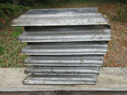 1941 Pontiac Grille Section Part I Think 6-ribs Grey Metal No Chrome