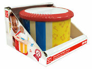 Hape E0608 Double-sided Hand Drum Childrens Toy Early Melodies Age 12 Months +