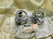 Yamaha Rx100 Rx100ltd Rxs Cover Outer Front Fork Guide Nos X2 Japan 2a1-23132-00
