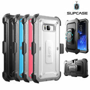 For Samsung Galaxy S8 / S8+ / S8 Active Genuine Supcase Full-body Case Cover Us