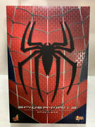 Spider-man 3 Hot Toys 1/6 Figure Non Scale Painted Movable Movie Masterpiece
