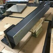 Newport Optical Breadboard Table 40wx5-1/2dx4-3/8h W/ Angle Mounting Brackets