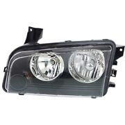 Headlight Lamp Left Hand Side Driver Lh Ch2502206 4806165aj For Dodge Charger