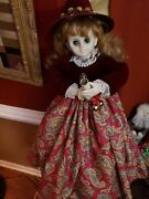 Vintage Telco Creations Motion-ettes Christmas Girl Doll Animated 1988 23
