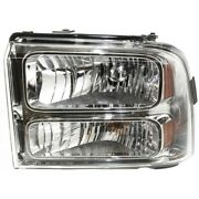 Headlight Lamp Left Hand Side For F250 Truck F350 F450 Driver Lh Ford Fo2502217
