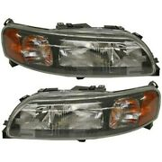 Headlight Lamp Left-and-right Lh And Rh Vo2503121 Vo2502122 86935632 86935640