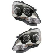 20912394 20912393 Gm2503358 Gm2502358 Headlight Lamp Left-and-right Lh And Rh