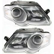 Headlight Lamp Left-and-right For Vw Vw2503130, Vw2502130 3c0941005l, 3c0941006l