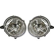 5303842ae, 5303843ae Ch2503176c, Ch2502176c Headlight Lamp Left-and-right