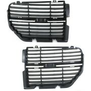 Ch1200333, Ch1200334 Set Of 2 Grille Assemblies Left-and-right Lh And Rh Pair
