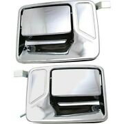 Exterior Door Handle For 2000-2005 Ford Excursion Rear Left And Right Set Of 2