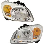 Gm2502251 Gm2503251 Headlight Lamp Left-and-right For Chevy Lh And Rh Cobalt G5