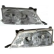 Headlight Lamp Left-and-right To2503126, To2502126 81150ac010, 81110ac010