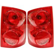 Pair Set Of 2 Tail Lights Lamps Left-and-right Ch2818104c Ch2819104c Lh And Rh