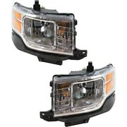 8a8z13008b 8a8z13008a Fo2503266 Fo2502266 Headlight Lamp Left-and-right