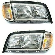Headlight Lamp Left-and-right For Mercedes C Class Lh And Rh Mb2503106 Mb2502106