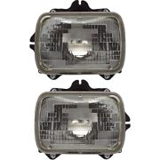 Headlight Lamp Left-and-right For 4 Runner Truck Sealed Beam Lh And Rh Tacoma