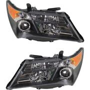Hid Headlight Lamp Left-and-right Hid/xenon Ac2519111 Ac2518111 Lh And Rh For Mdx