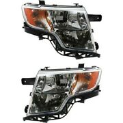 Headlight Lamp Left-and-right Fo2503228c Fo2502228c 7t4z13008b 7t4z13008a