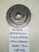 Us Baird No. 35 Multislide Cam Template No. 35036 1 1/4 Rear Auxiliary Slide