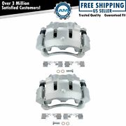 Front Disc Brake Caliper Pair Lh And Rh Sides For Ford Super Duty Pickup Truck
