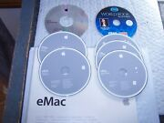Apple Macintosh Emac System Restore Apps And Os X 10.2 With Sealed Manual