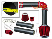 Bcp Rw Red For 04-08 Acura Tl 3.2/3.5 And 05-08 Rl 3.5 Cold Air Intake Kit +filter