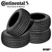 4 X New Continental Conticrosscontact Lx 245/50r20 102v Tires