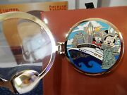 Disney Vacation Club 25th Member Cruise Minnie Mouse Porthole Pin Le New W/box