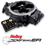 Holley Sniper Efi 550-842 Fuel Injection System Stealth 4500 Black 800-1500hp