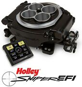 Holley Sniper Efi 550-513 4bbl 4150 Fuel Injection System Black 1250hp Boosted