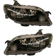 Headlight Lamp Left-and-right Ma2503130 Ma2502130 Bp4f510l0 Bp4f510k0 Lh And Rh