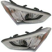 Headlight Lamp Left-and-right Hy2503169 Hy2502169 921024z010 921014z010