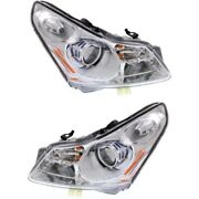In2503146 In2502146 Hid Headlight Lamp Left-and-right Hid/xenon Sedan Lh And Rh