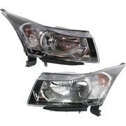Headlight Lamp Left-and-right For Chevy Lh And Rh Cruze Gm2503361c Gm2502361c