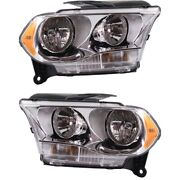 Headlight Lamp Left-and-right Ch2503228c Ch2502228c 55079366ac 55079367ac