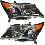 Hid Headlight Lamp Left-and-right Hid/xenon Ac2519110 Ac2518110 Lh And Rh For Mdx